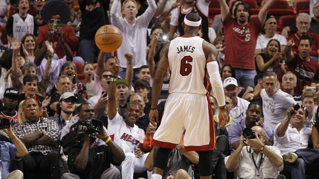 Basketball - LeBron-inspired Heat beat Celtics