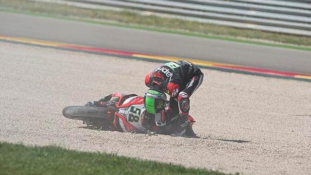 Superbikes - Aragon WSBK: Cold tyres big factor in Laverty crash