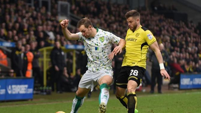 Feeble display at Burton leaves top six a pipe dream for Norwich City