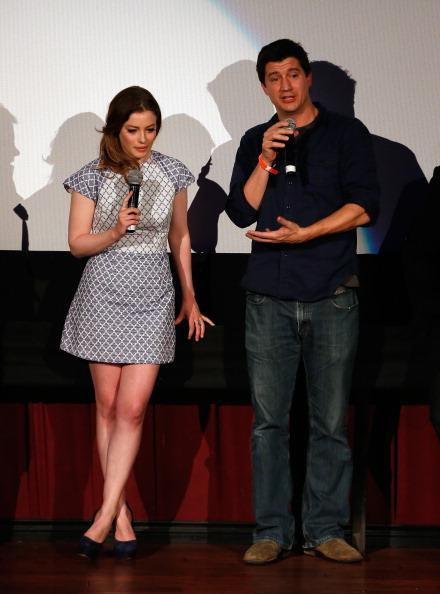 Gillian Jacobs and Ken Marino