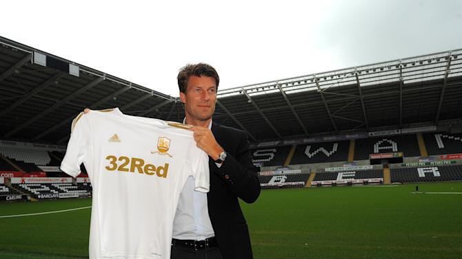 Kristian O'Leary has been added to Michael Laudrup's (pictured) backroom staff at Swansea