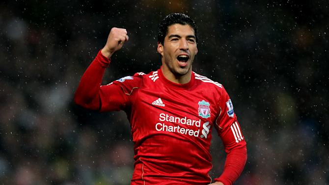 Luis Suarez ensured a comfortable win for Liverpool