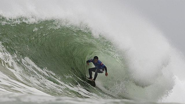 Surfing: Lay day called at Rip Curl Pro Portugal
