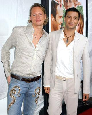 Carson Kressley and Jai Rodriguez at the Westwood premiere of New Line Cinema's Monster-In-Law