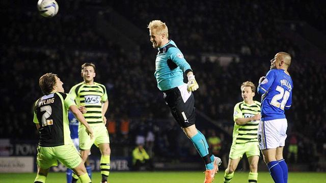 Championship - Keeper Schmeichel wrongly denied first career goal