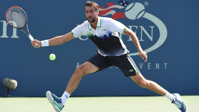 US Open men - Cilic edges Simon in five-set thriller to reach quarters