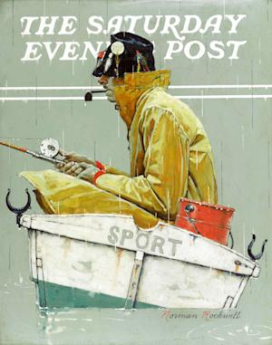 """This undated photo provided by Sotheby's in New York shows a Norman Rockwell painting, """"Sport,"""" that was discovered missing from a Queens storage facility, according to the New York Police Department. The oil painting was sold from a private collector in Birmingham, Ala., at a Sotheby's auction in New York on May 22. Police didn't identify the owner. (AP Photo/Sotheby's)"""