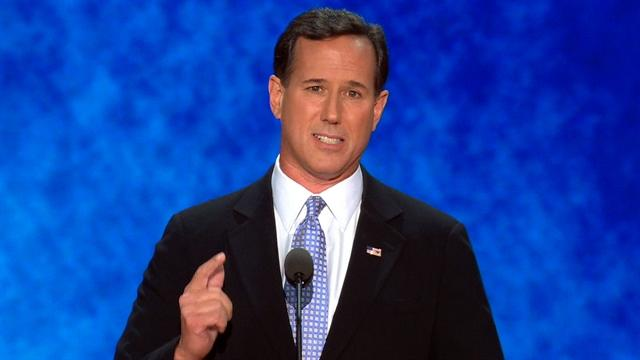 "Santorum: Romney, Ryan will stop ""assualt"" on family"