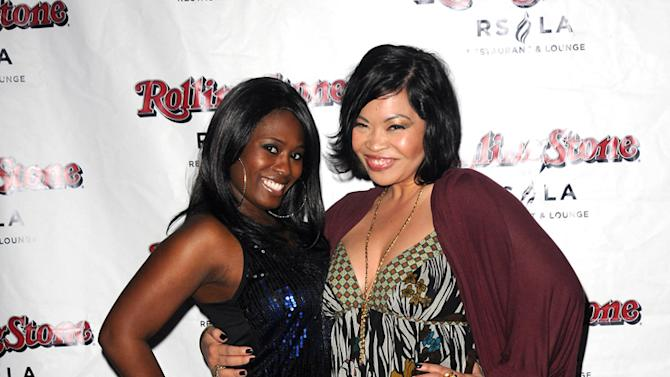 Tennille Williams and Mae Flores