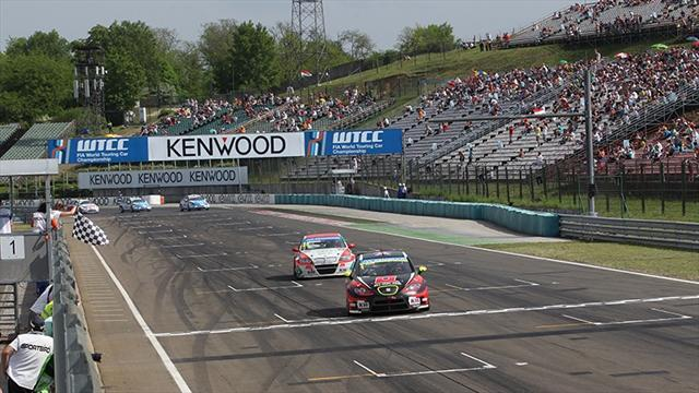 WTCC - Huff gets first SEAT triumph with race two win in Hungary