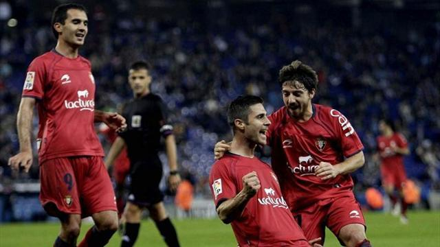 Spanish Liga - Osasuna ease past Espanyol
