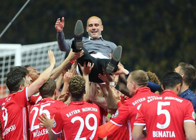 Pep Guardiola is about to leave Bayern Munich for his first taste of the Premier League as Manchester City boss
