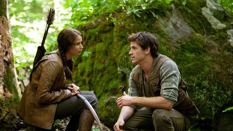 Hunger Games 2012 Lionsgate Jennifer Lawrence Liam Hemsworth