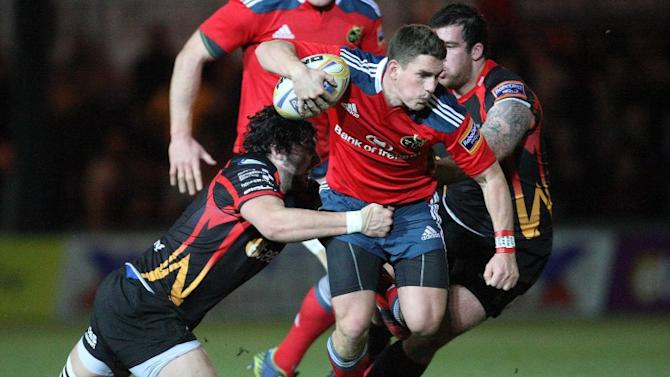 Penney hails Keatley's 'wonderful' kicking game for Munster