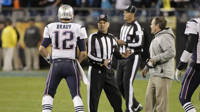 'That's f**king bull!' — Tom Brady was not happy with the refs last night