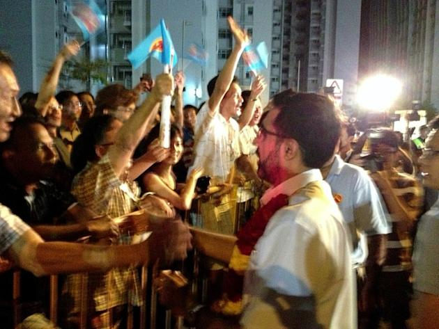 Workers' Party holds their third and final rally