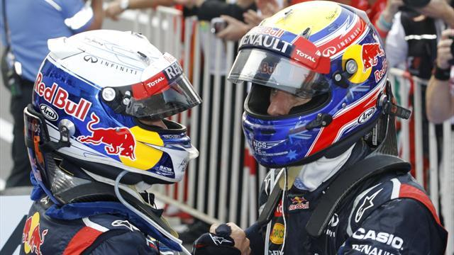 Formula 1 - Webber 'not playing support role at Red Bull'