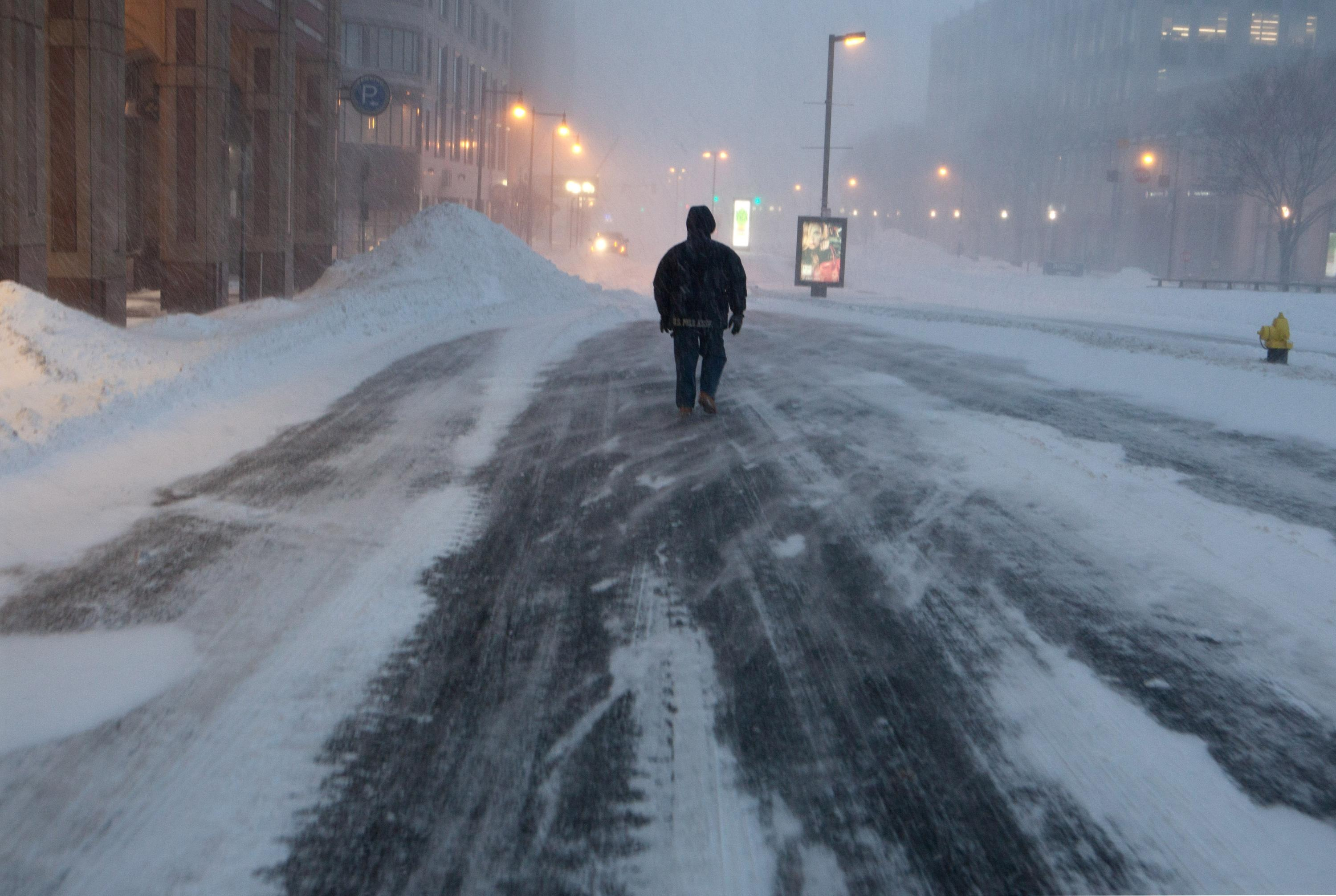 Nor'easter slams the Northeast