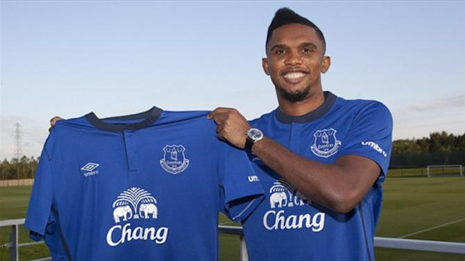 Premier League - Everton confirm Eto'o capture