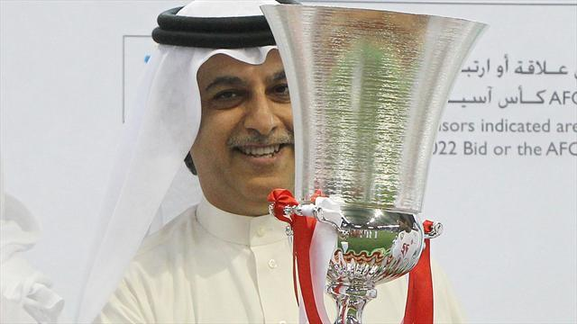 World Cup - Bahraini in running for AFC presidency, Qatari seeks FIFA role