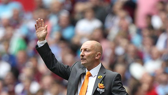 Ian Holloway's Blackpool lost the Championship play-off final to West Ham last season