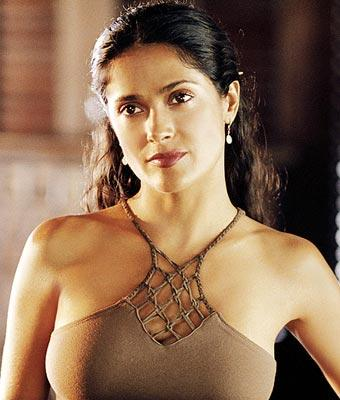 Salma Hayek in New Line Cinema's After the Sunset