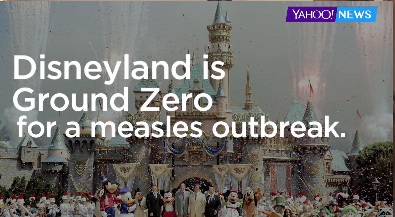 Disneyland measles outbreak explained in under a minute