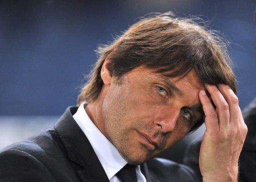 Police have searched the home of Antonio Conte, the coach of Serie A champions Juventus