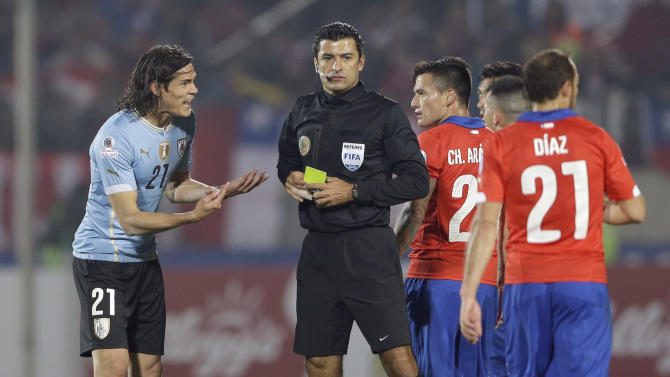 Brazilian refs sending message to players: Stop the whining!