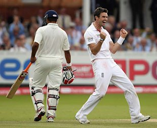 Anderson gets Dhoni, signals the beginning of India's end.