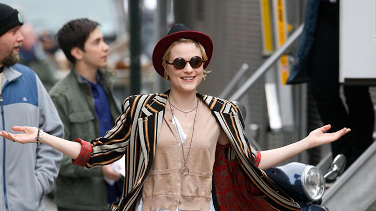 Spotted on Set Evan Rachel Wood