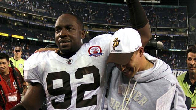American Football - Ravens swoop for Dumervil