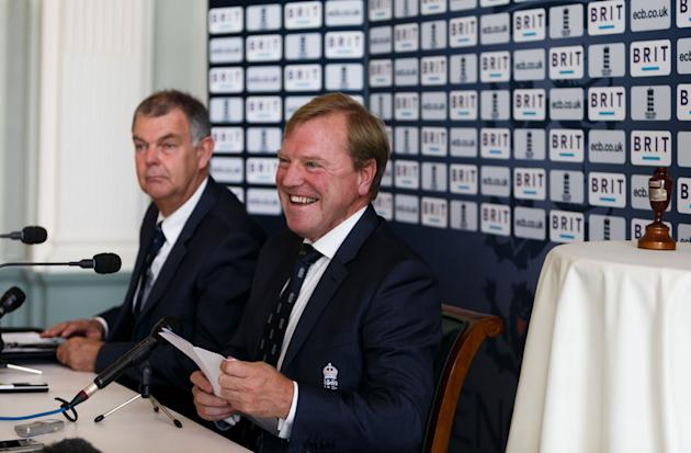Cricket - England Ashes Squad Announcement - Lord's Cricket Ground