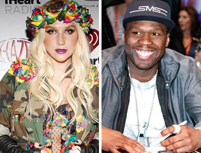 Ke$ha, 50 cent