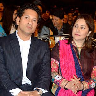 Tendulkar Felicitated At Umang