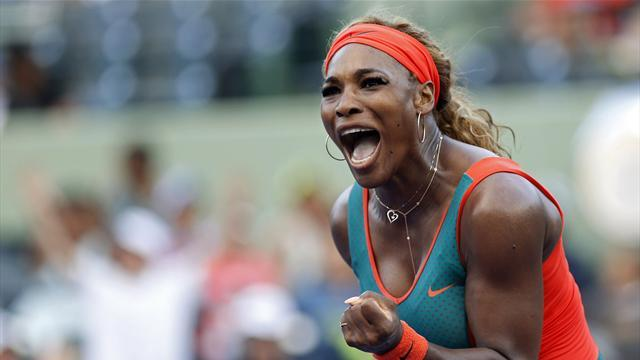 Tennis - Williams powers past Navarro to reach Madrid quarters