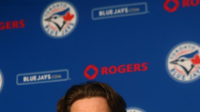 Toronto Blue Jays Introduce R.A. Dickey