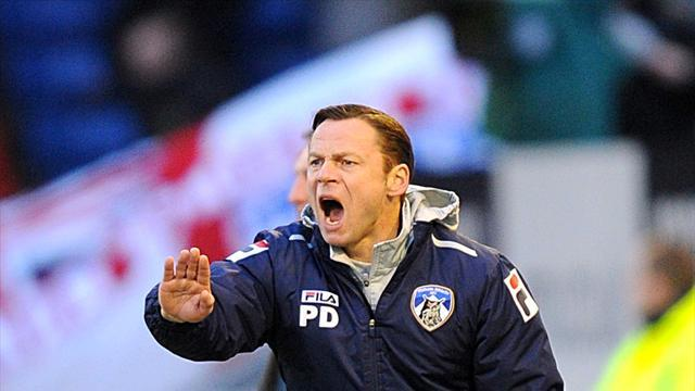 Football - Corney coy on Dickov's future
