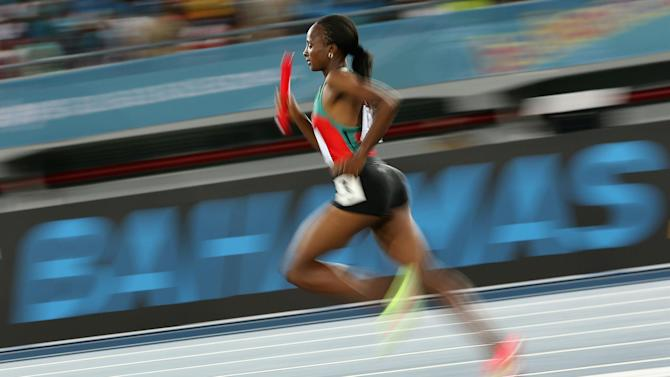 Athletics - Kenyan women break 4x1500 metres relay world record