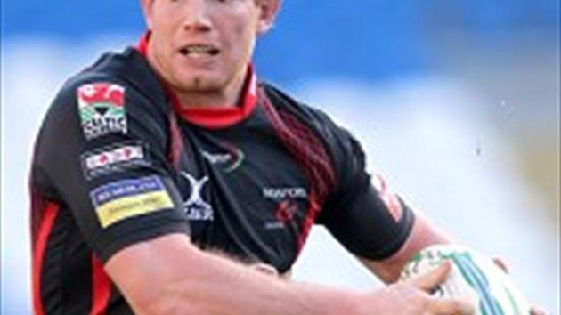 Patrick Leach scored a try in Newport's victory
