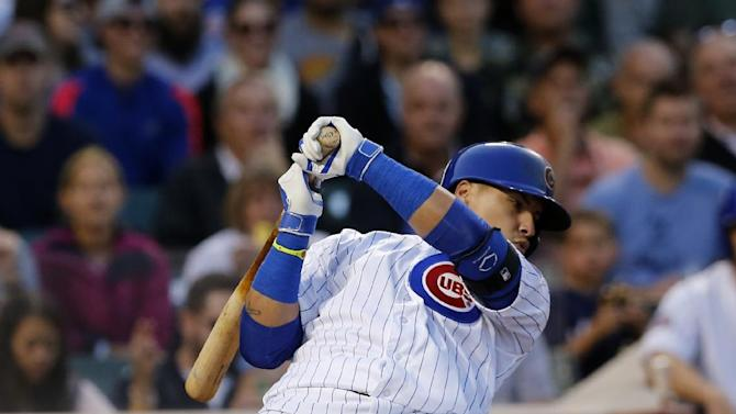 Baez, Rizzo go deep and Cubs beat Brewers 4-2