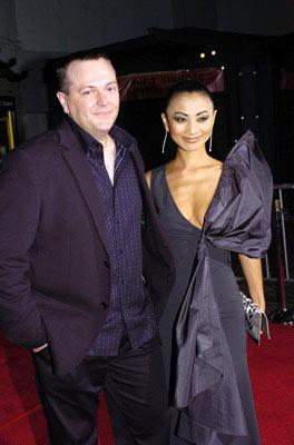 Director Kerry Conran and Bai Ling at the Hollywood premiere of Paramount Pictures' Sky Captain and the World of Tomorrow