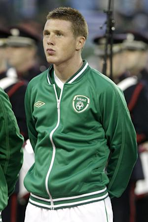 James McCarthy starts for Ireland against Serbia on Wednesday