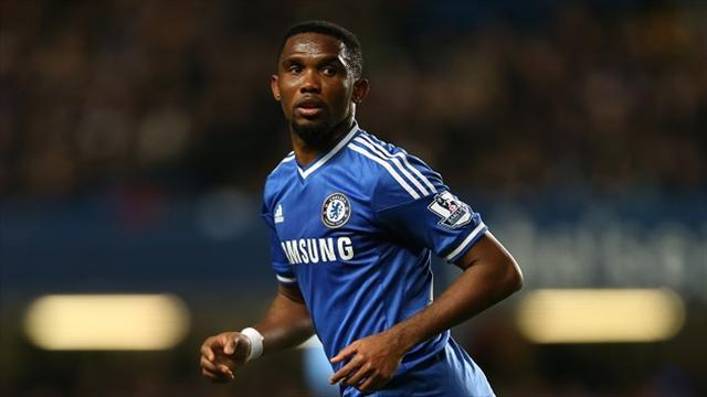 Premier League - Eto'o laughs off age remarks