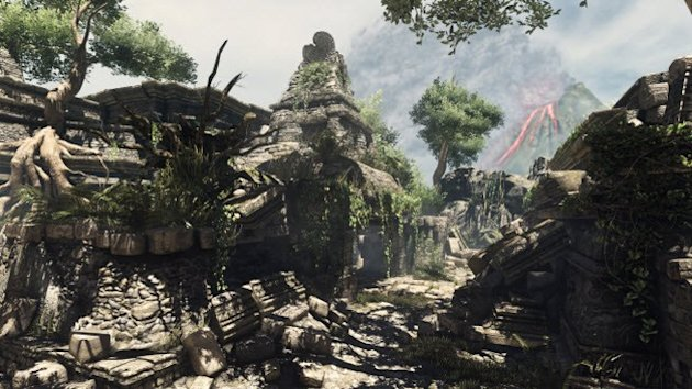 Call of Duty: Ghosts Ruins map
