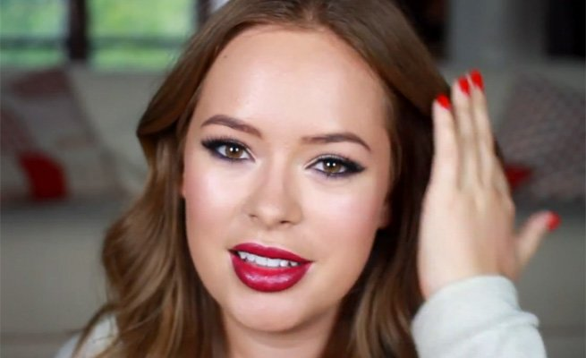 Follow Beauty Blogger Tanya Burr's Makeup Tutorial To Create An Evening Look