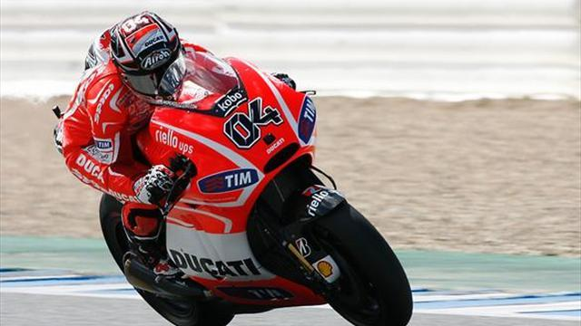 Motorcycling - Dovizioso admits race pace a concern