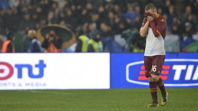 Serie A - Disgraced De Rossi left out by Italy