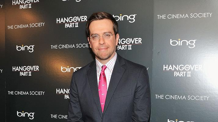 The Hangover Part II 2011 NYC Screening Ed Helms