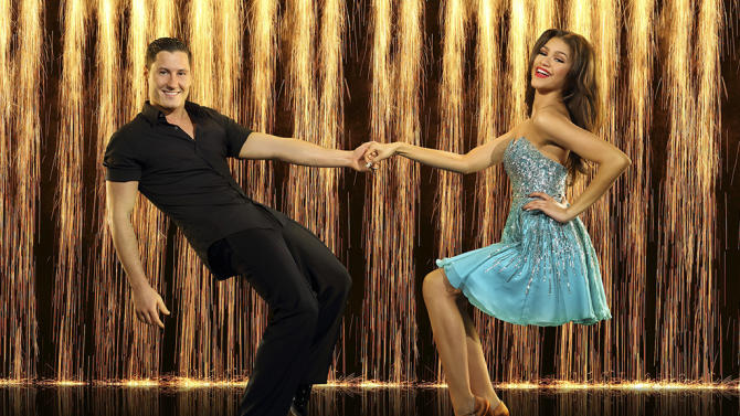 """Dancing with the Stars"" Season 16 VAL CHMERKOVSKIY, ZENDAYA"